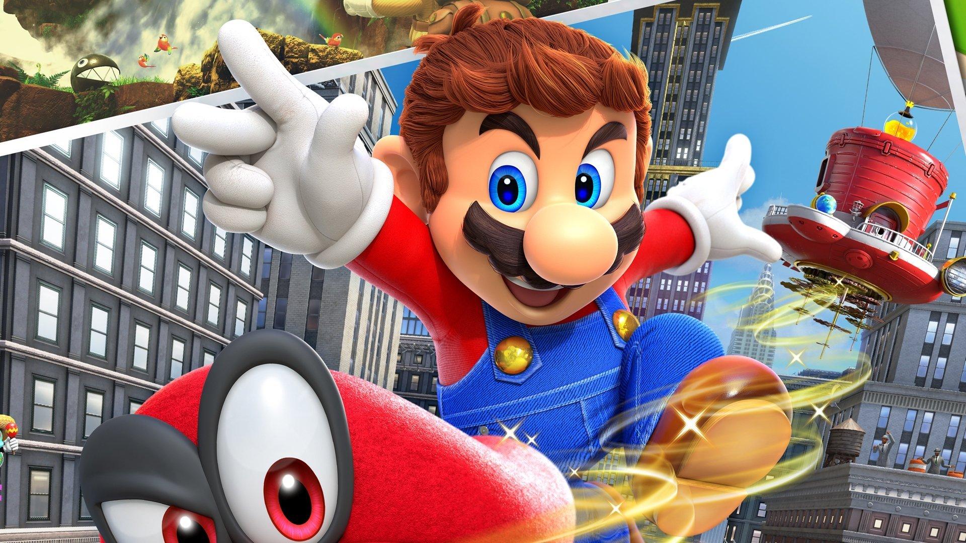 Mario Odyssey Cover art