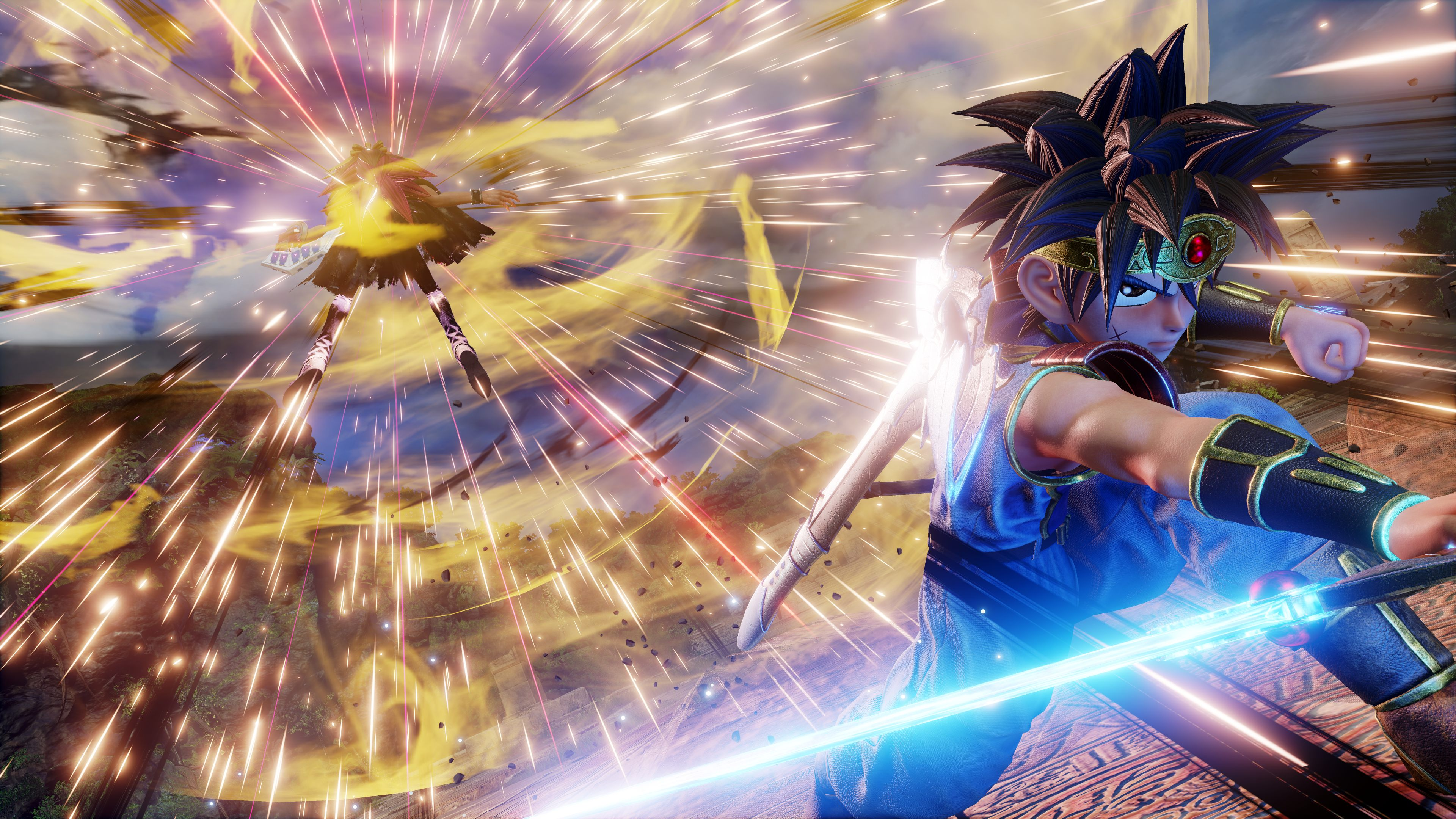 Jump Force adds Dragon Quest: The Adventures of Dai hero