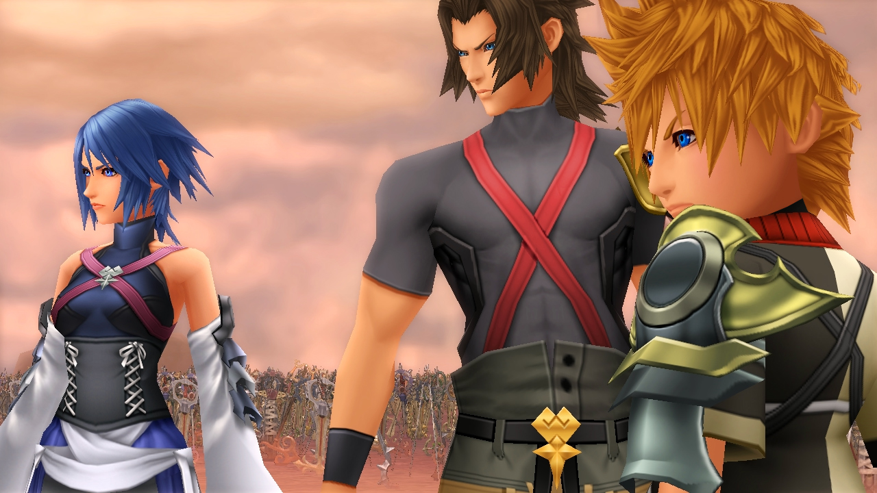 Kingdom Hearts for Dummies - Aqua, Terra, Ventus