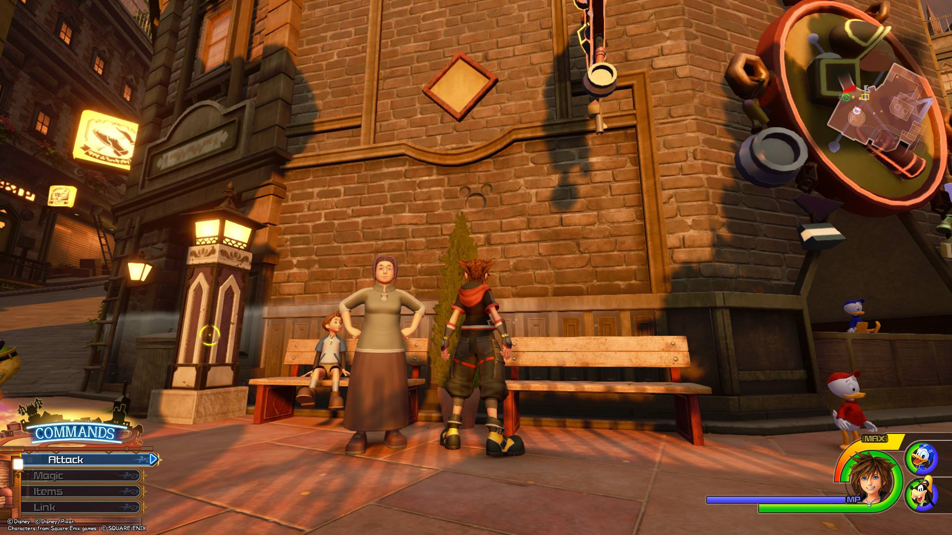 Kingdom Hearts 3 - Twilight Town Lucky Emblem 1
