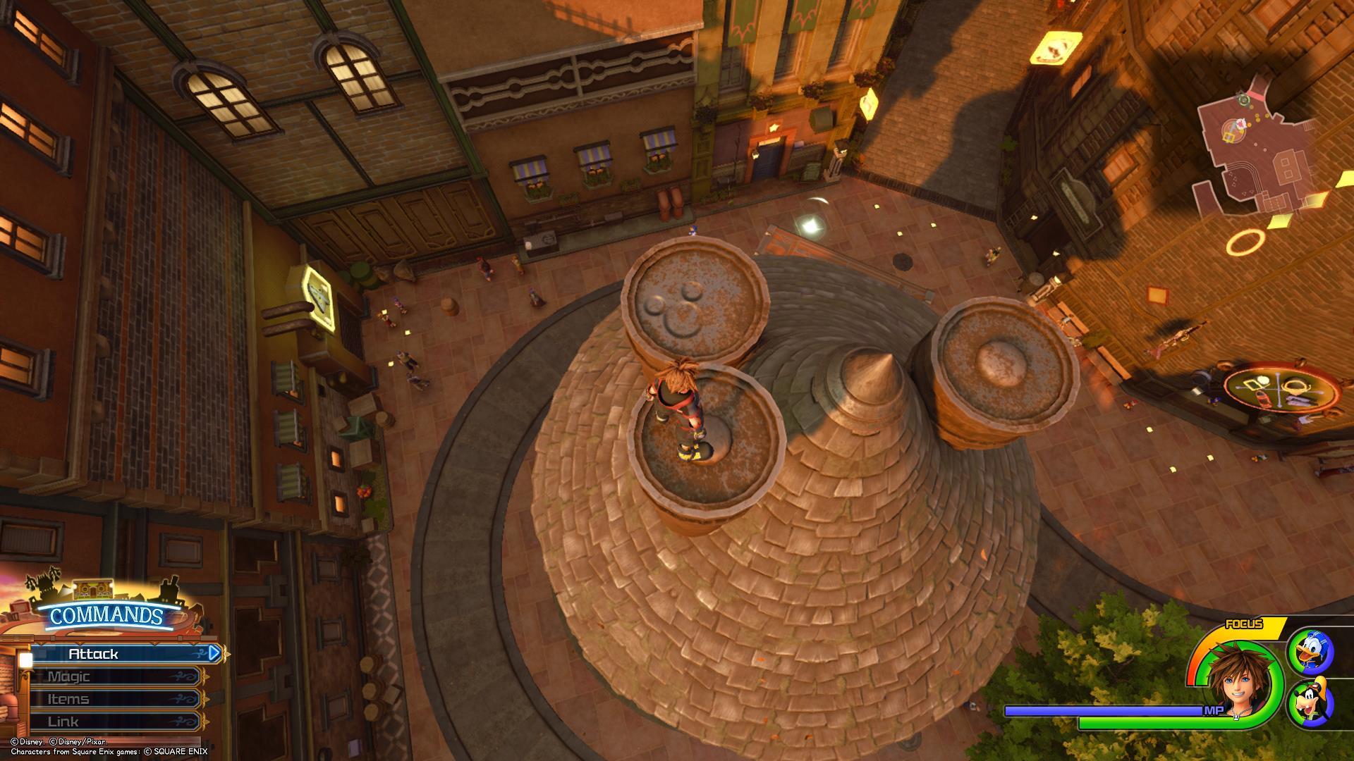Kingdom Hearts 3 - Twilight Town Lucky Emblem 2