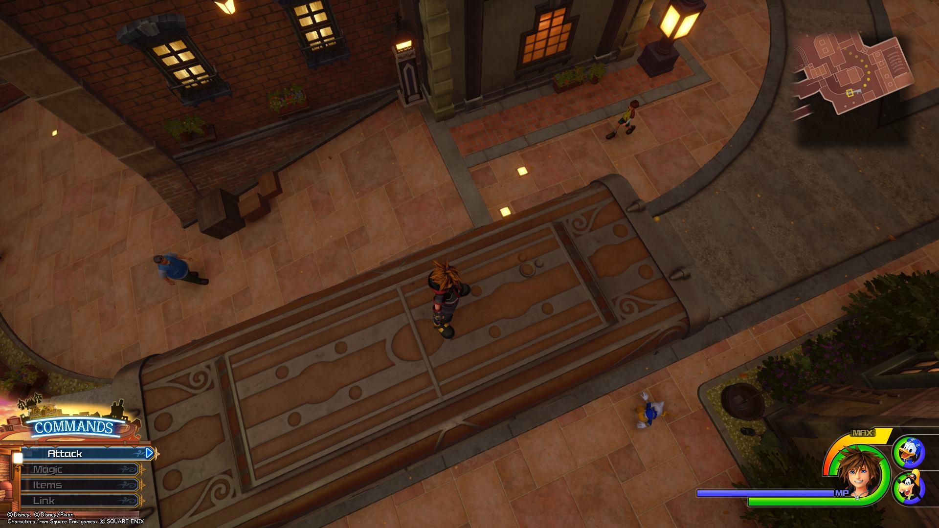Kingdom Hearts 3 - Twilight Town Lucky Emblem 3