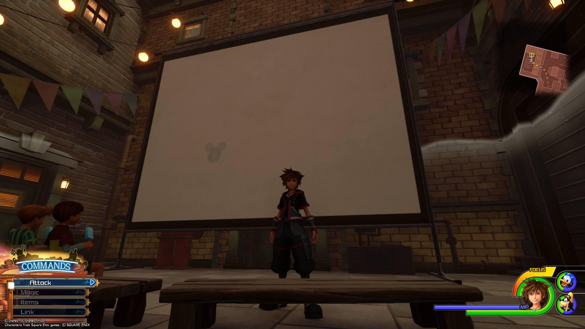 Kingdom Hearts 3 - Twilight Town Lucky Emblem 4