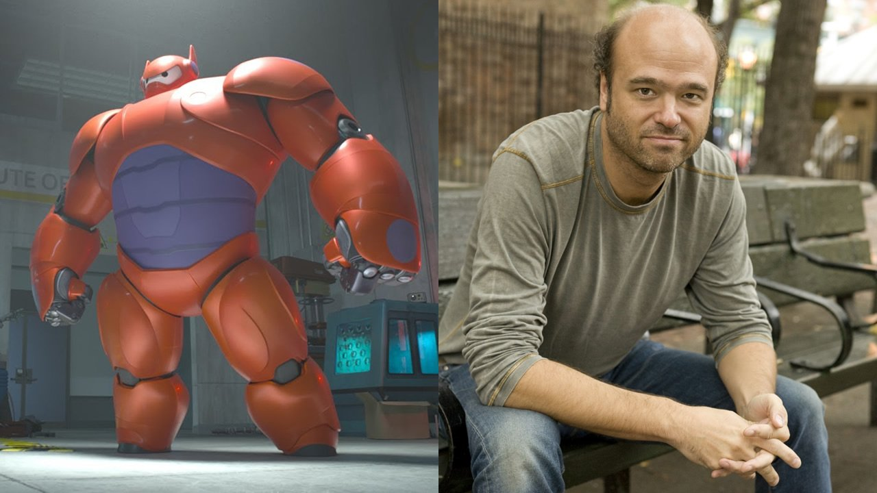 Scott Adsit voices Baymax