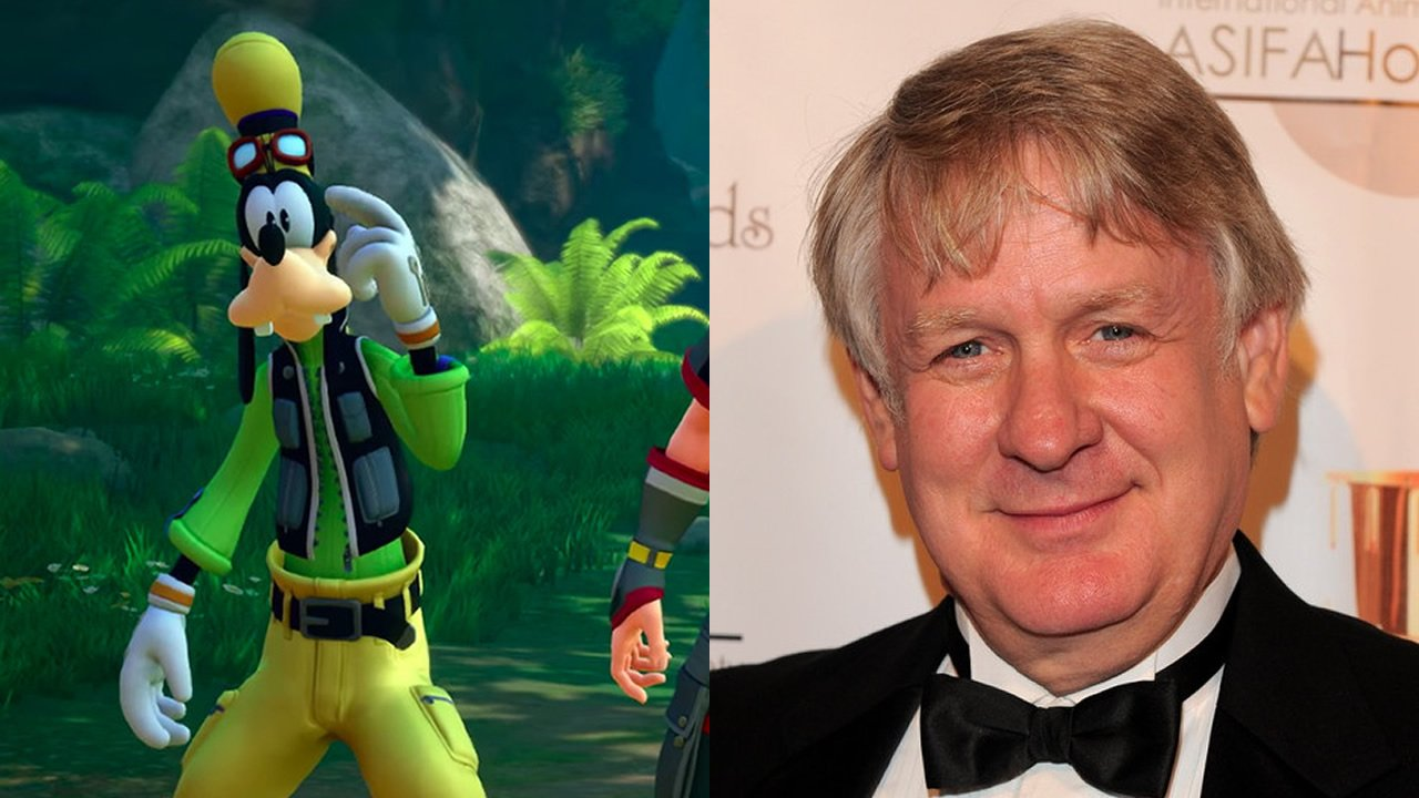 Bill Farmer voices Goofy
