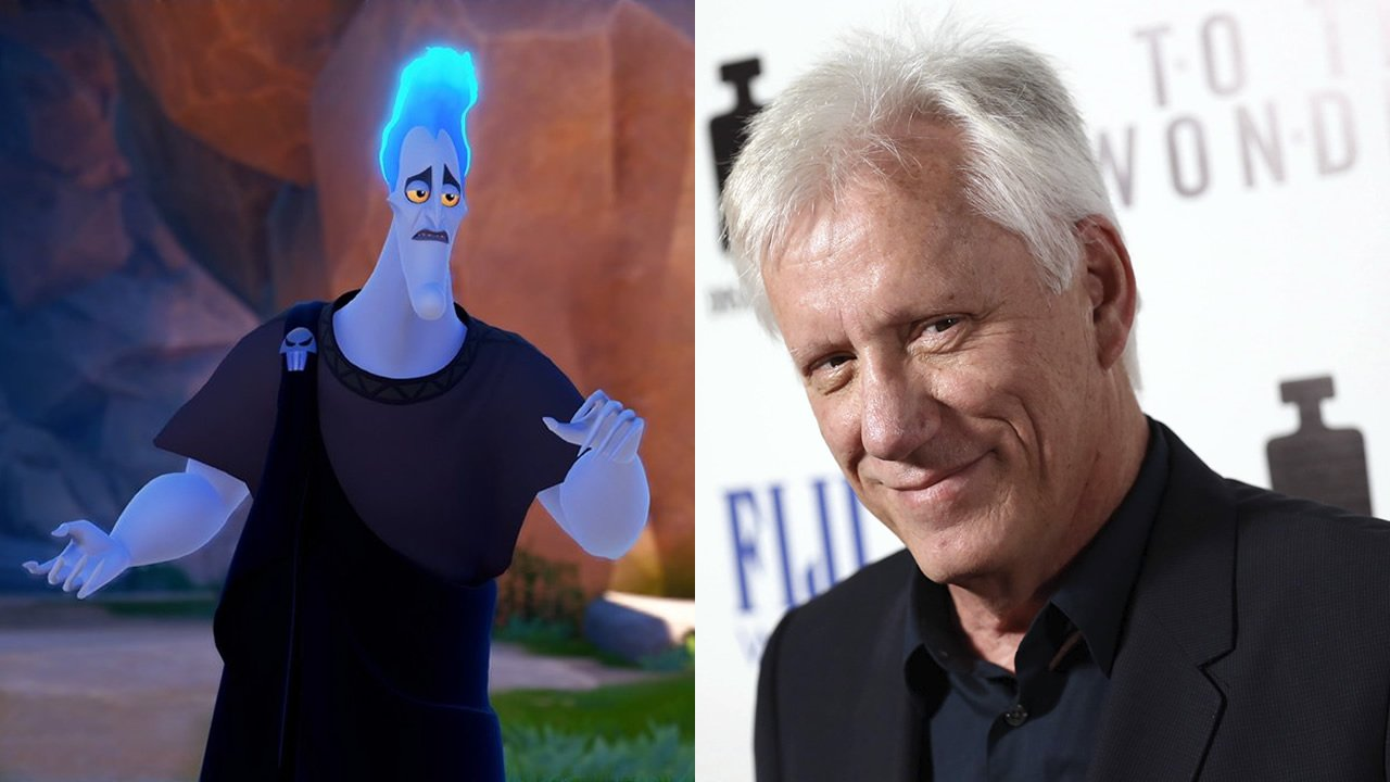 James Woods voices Hades