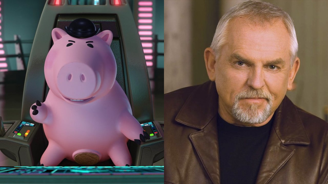 John Ratzenberger voices Hamm