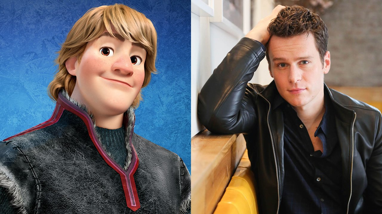 Jonathan Groff voices Kristoff