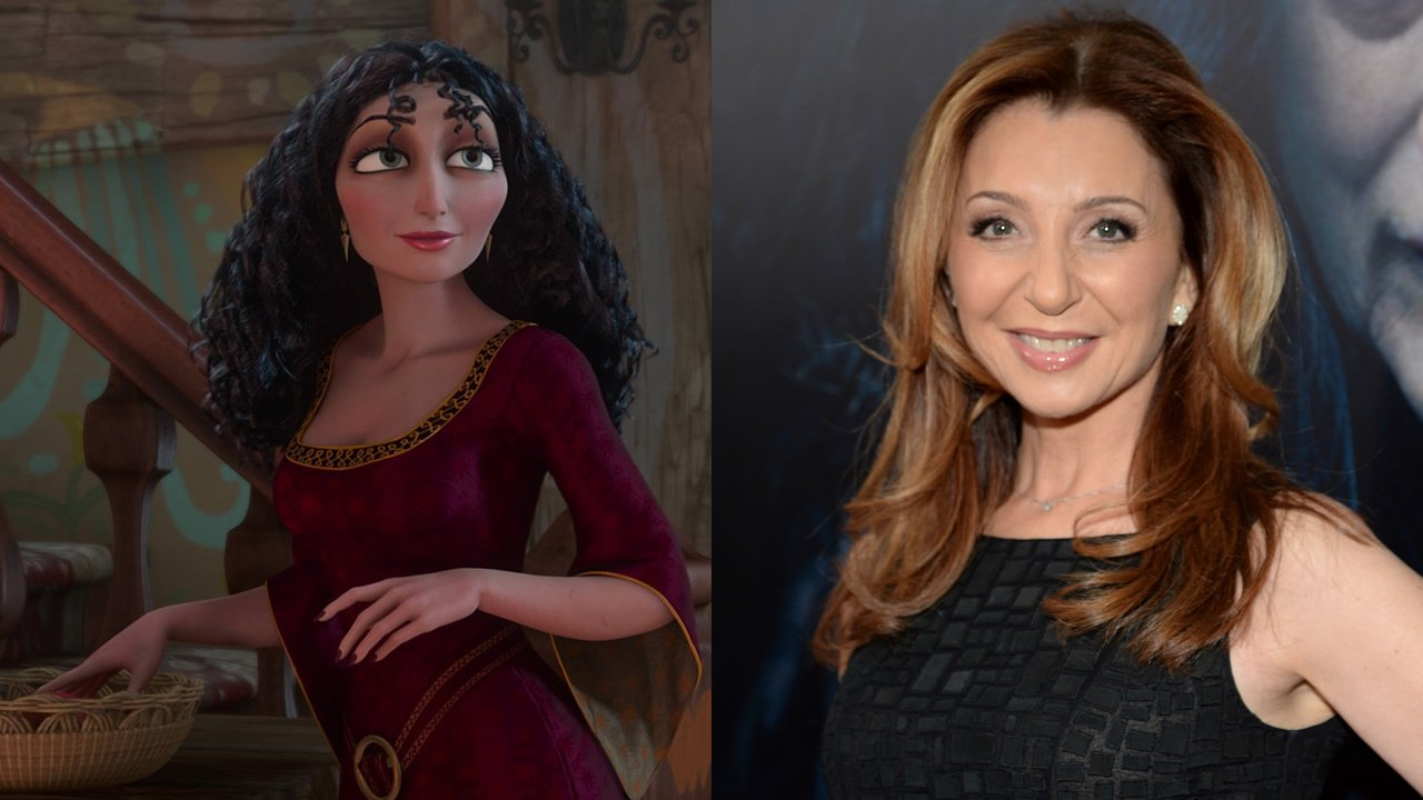Donna Murphy voices Mother Gothel