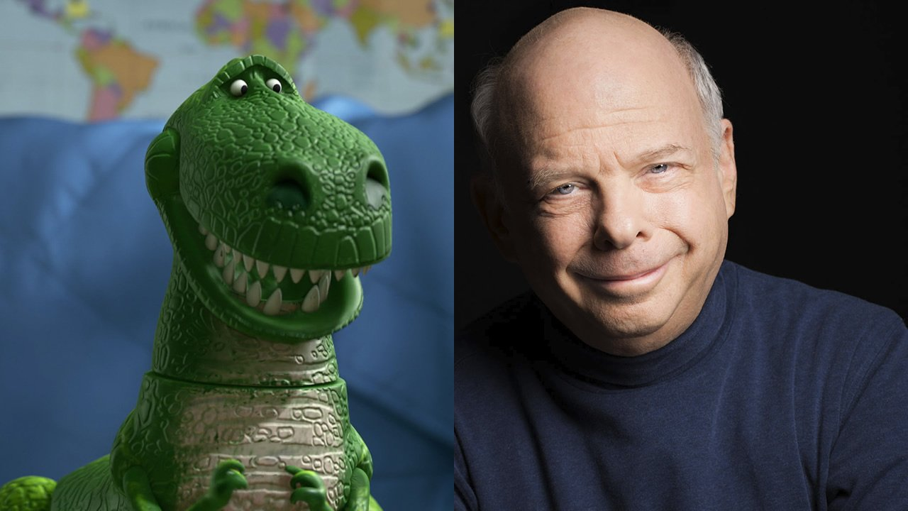 Wallace Shawn voices Rex