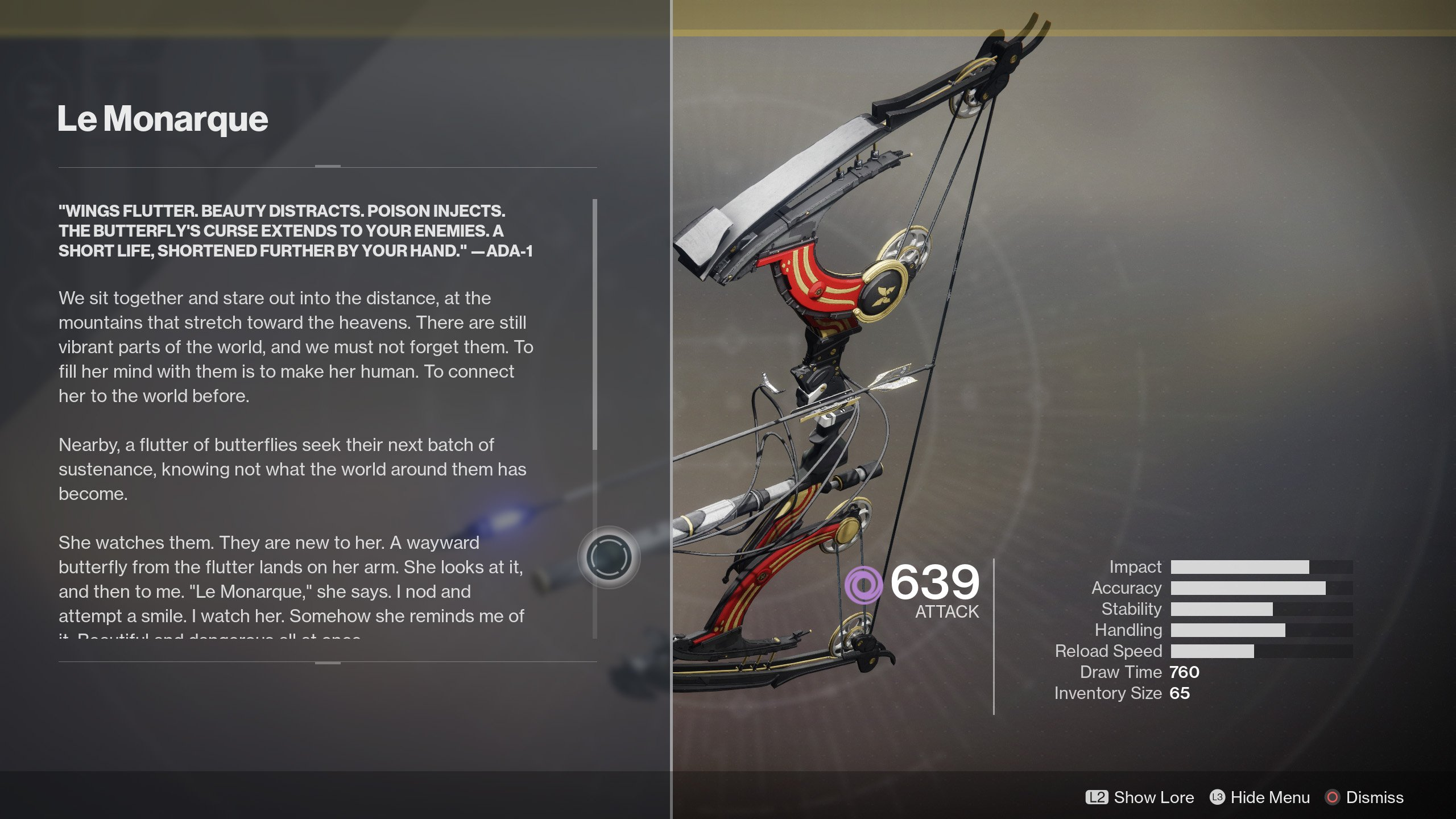 How To Get The Le Monarque Exotic Bow In Destiny 2 Shacknews