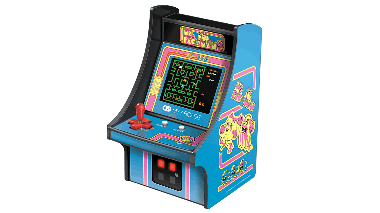 my arcade ms pac-man micro player