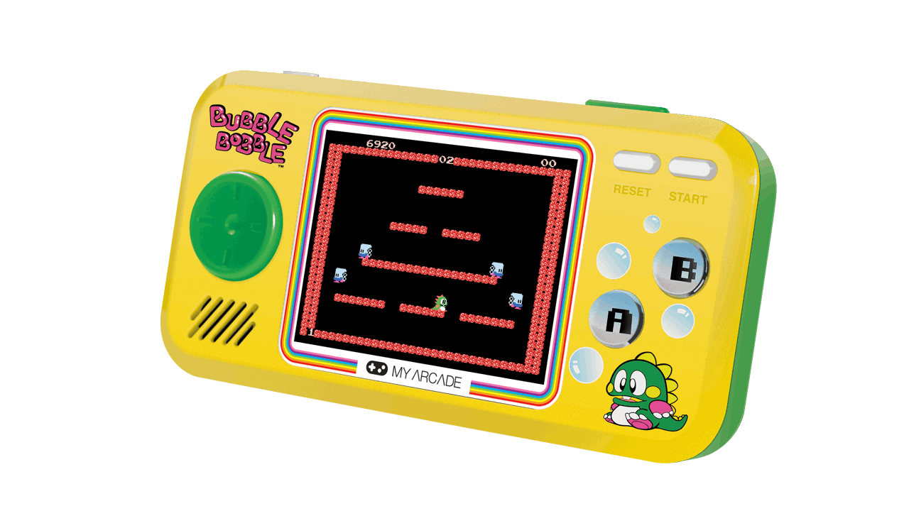 my arcade bubble bobble pocket player