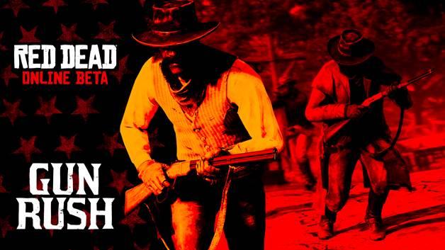Red Dead Online Beta Gun Rush mode announcement