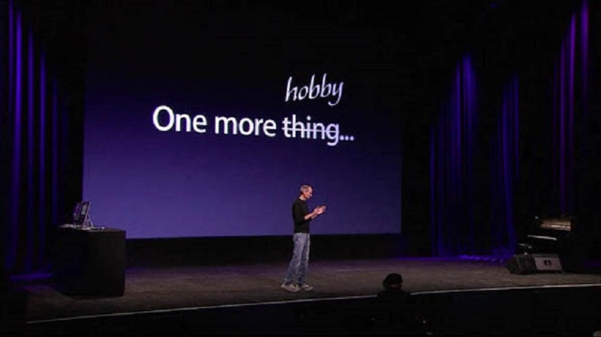 Apple's set top TV product had been labeled as a hobby by Jobs.