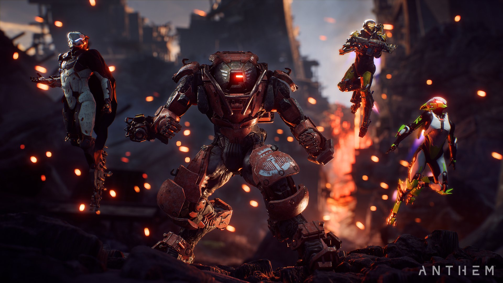 Anthem hands-on preview - Javelins