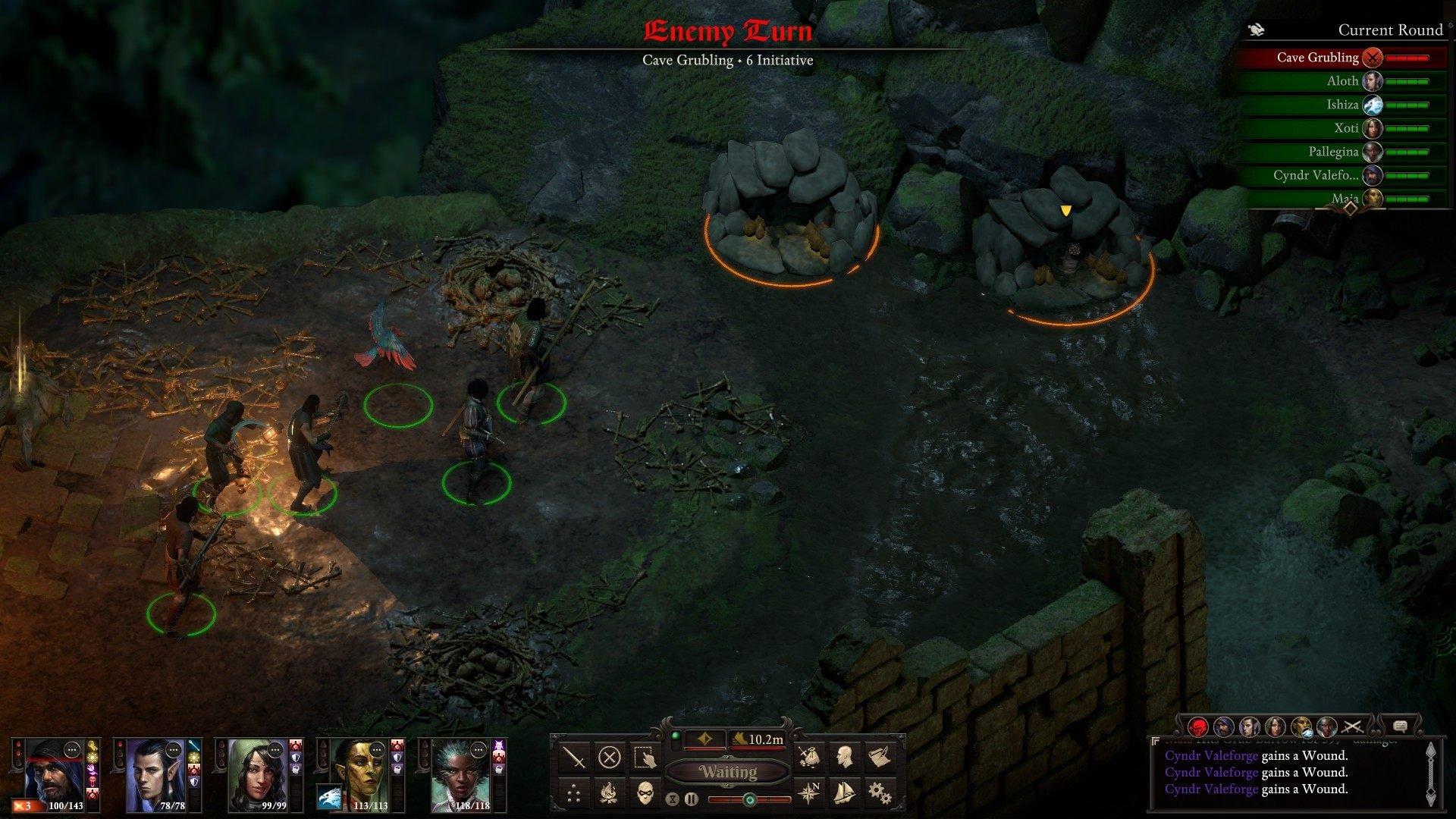 pillars of eternity 2 deadfire turn-based combat beta impressions