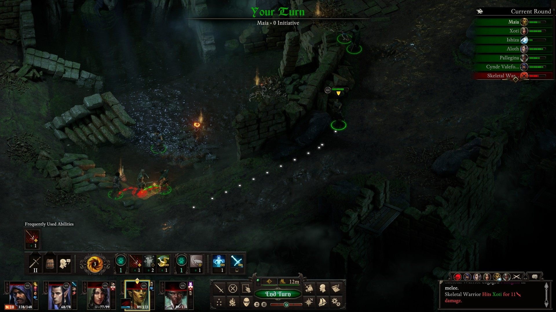 Pillars of Eternity 2: Deadfire turn-based combat impressions