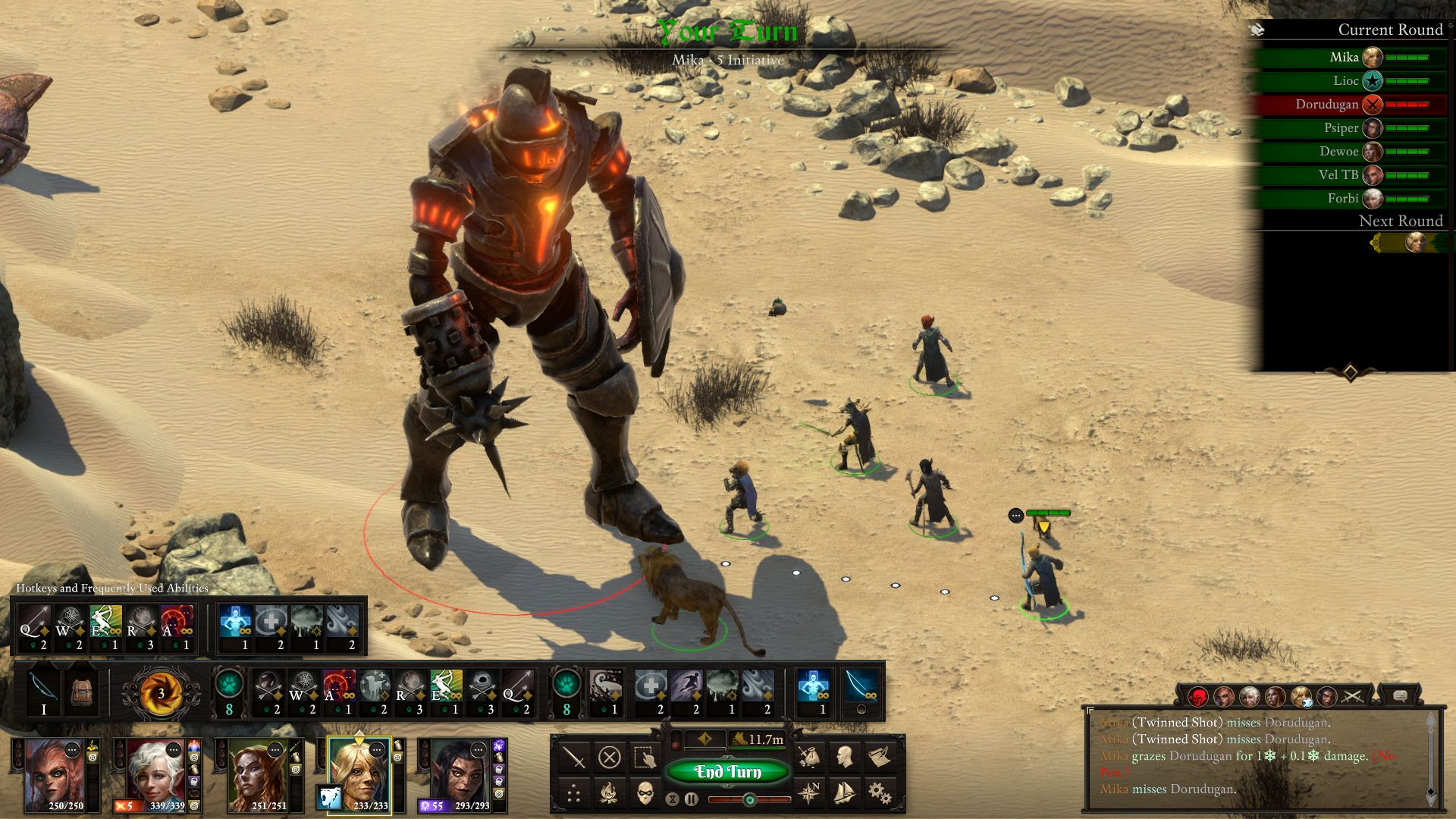 pillars of eternity deadfire 2 ii turn based combat update