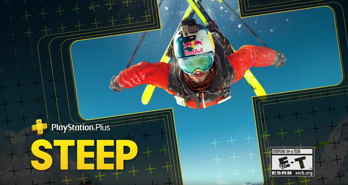 playstation plus free january games steep portal knight