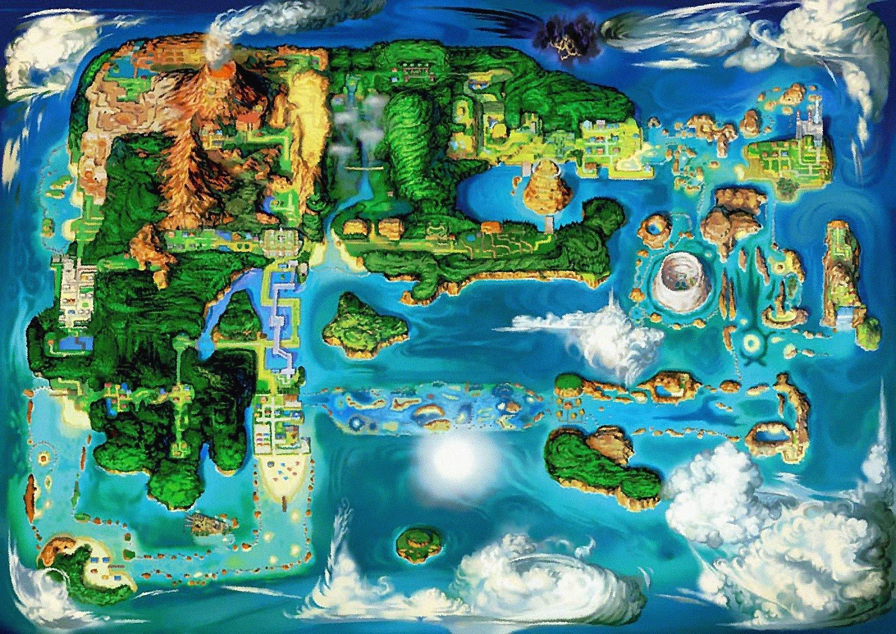 pokemon go hoenn region map