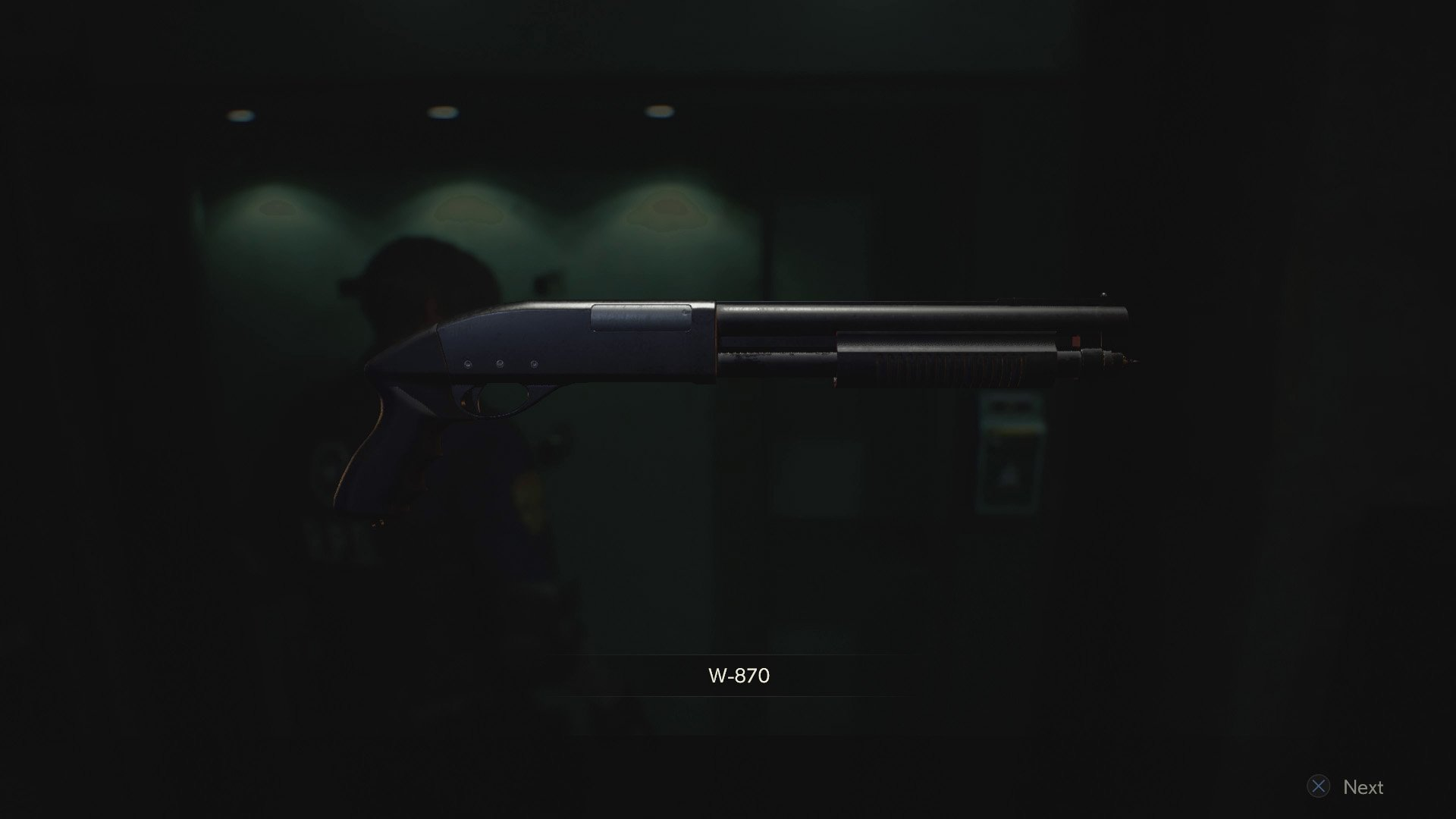 Re2 remake shotgun