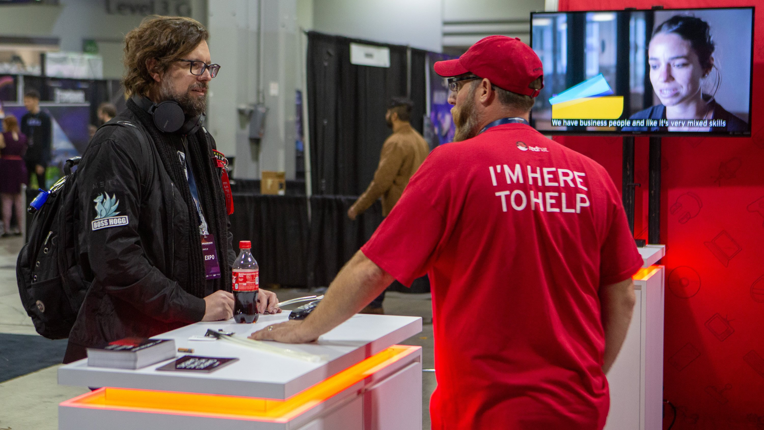 red hat celebrates gamers at dreamhack atlanta