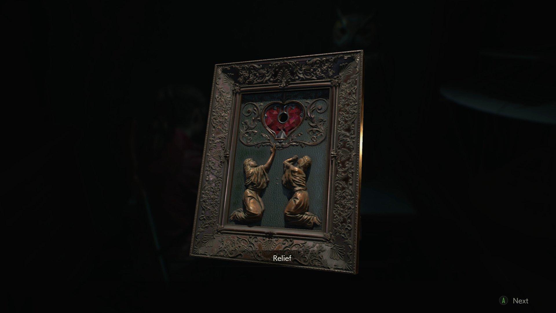 Resident Evil 2 Heart key