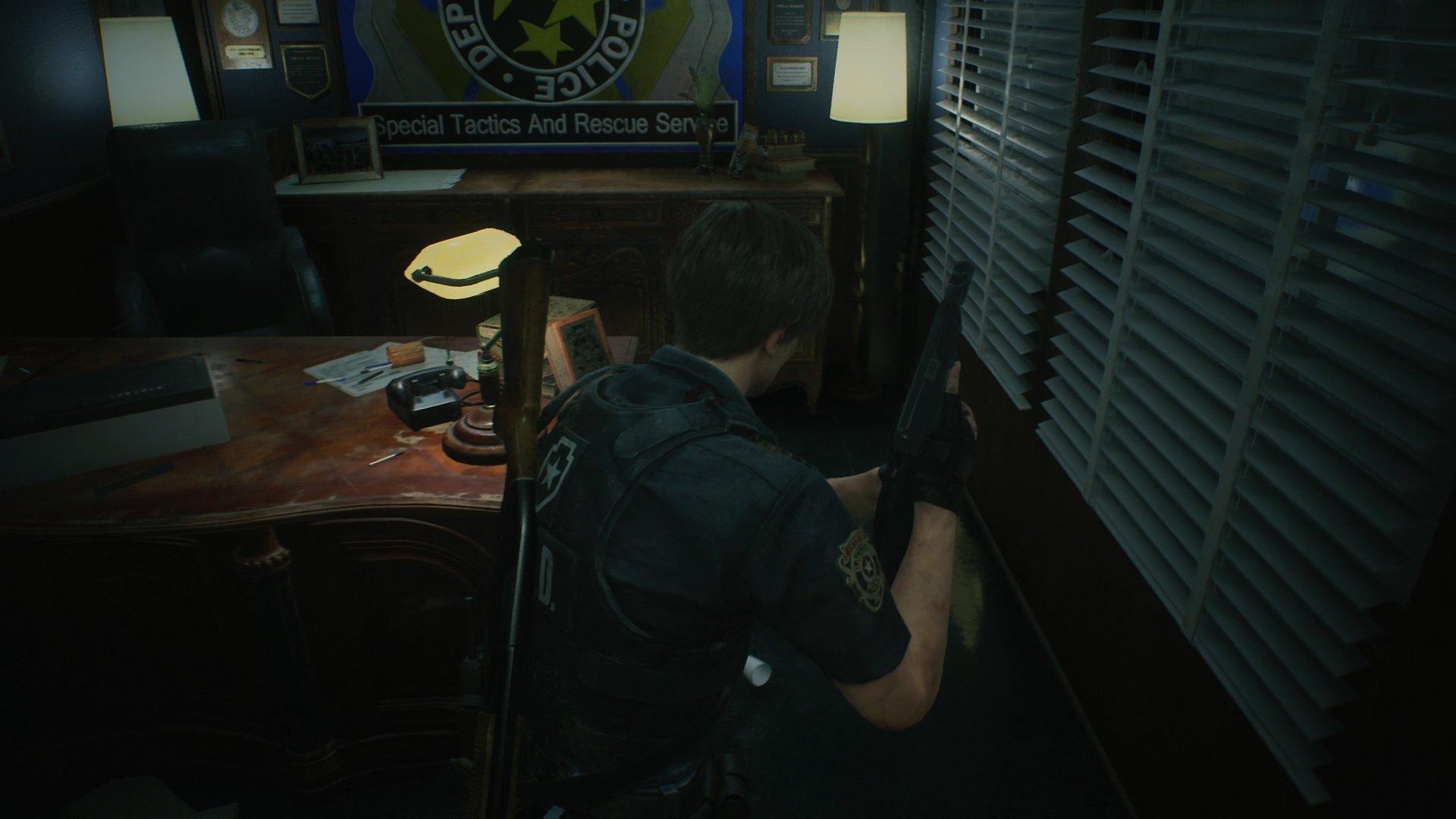 Resident Evil 2 hiding place 1