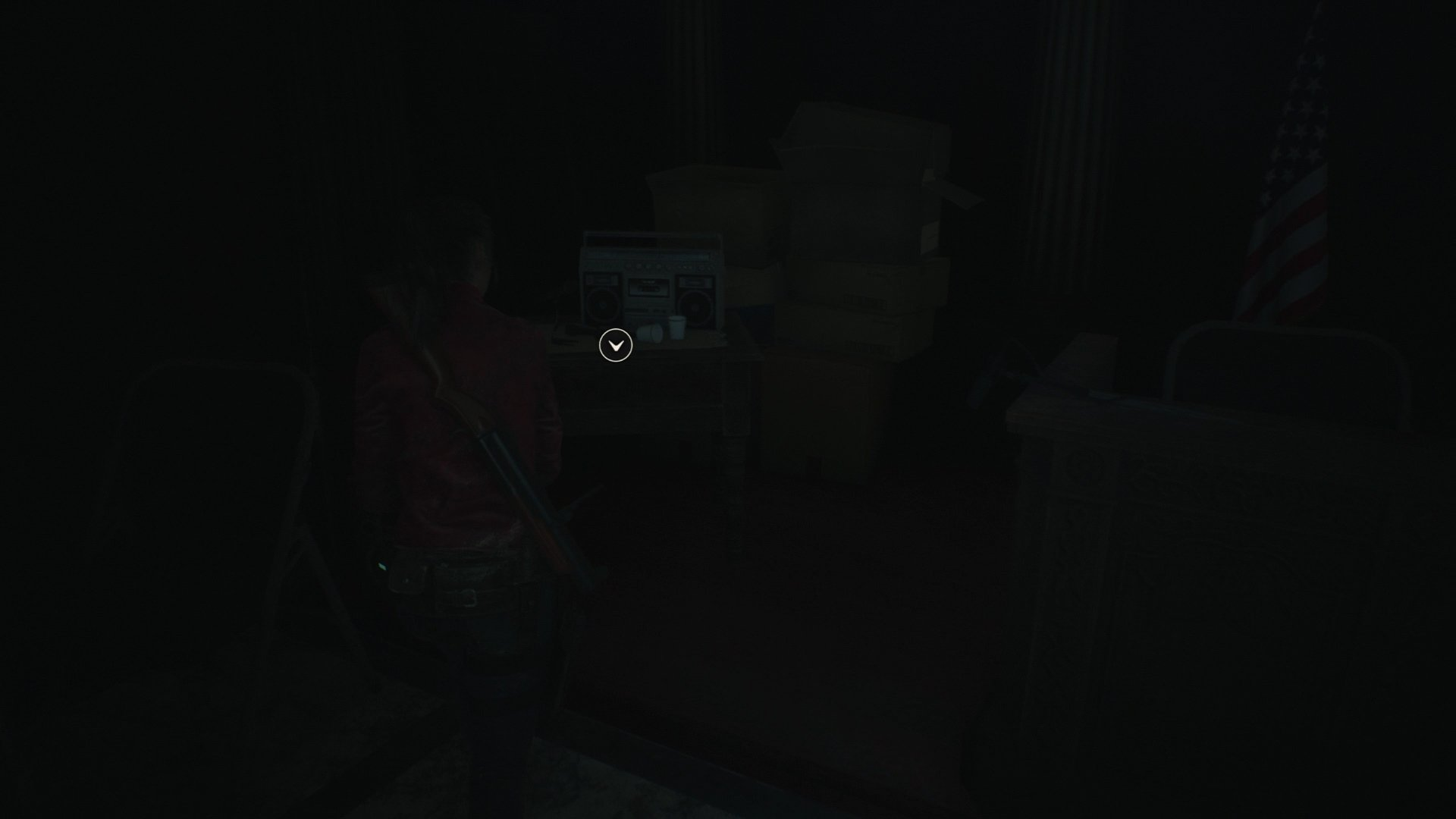 Resident Evil 2 hiding place location 2