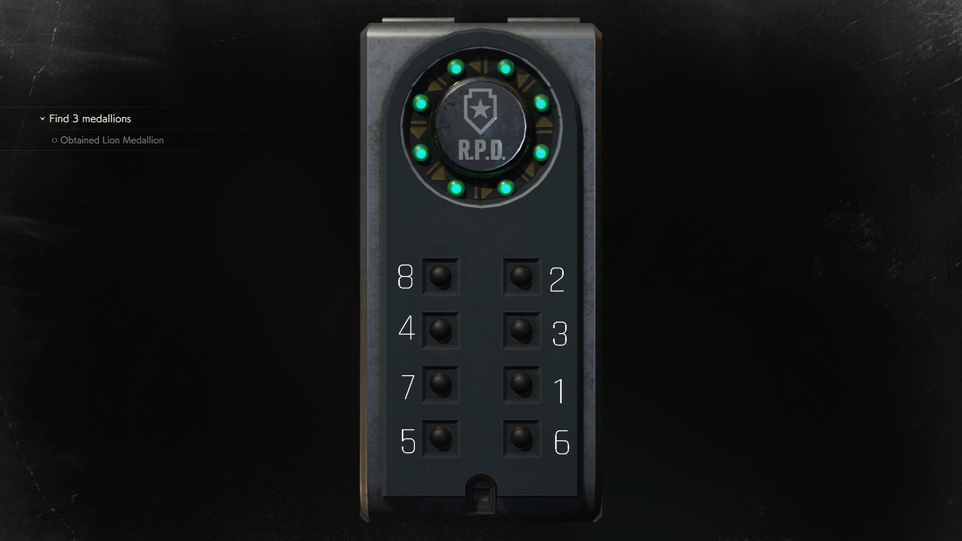 Resident Evil 2 portable safe shower room Claire
