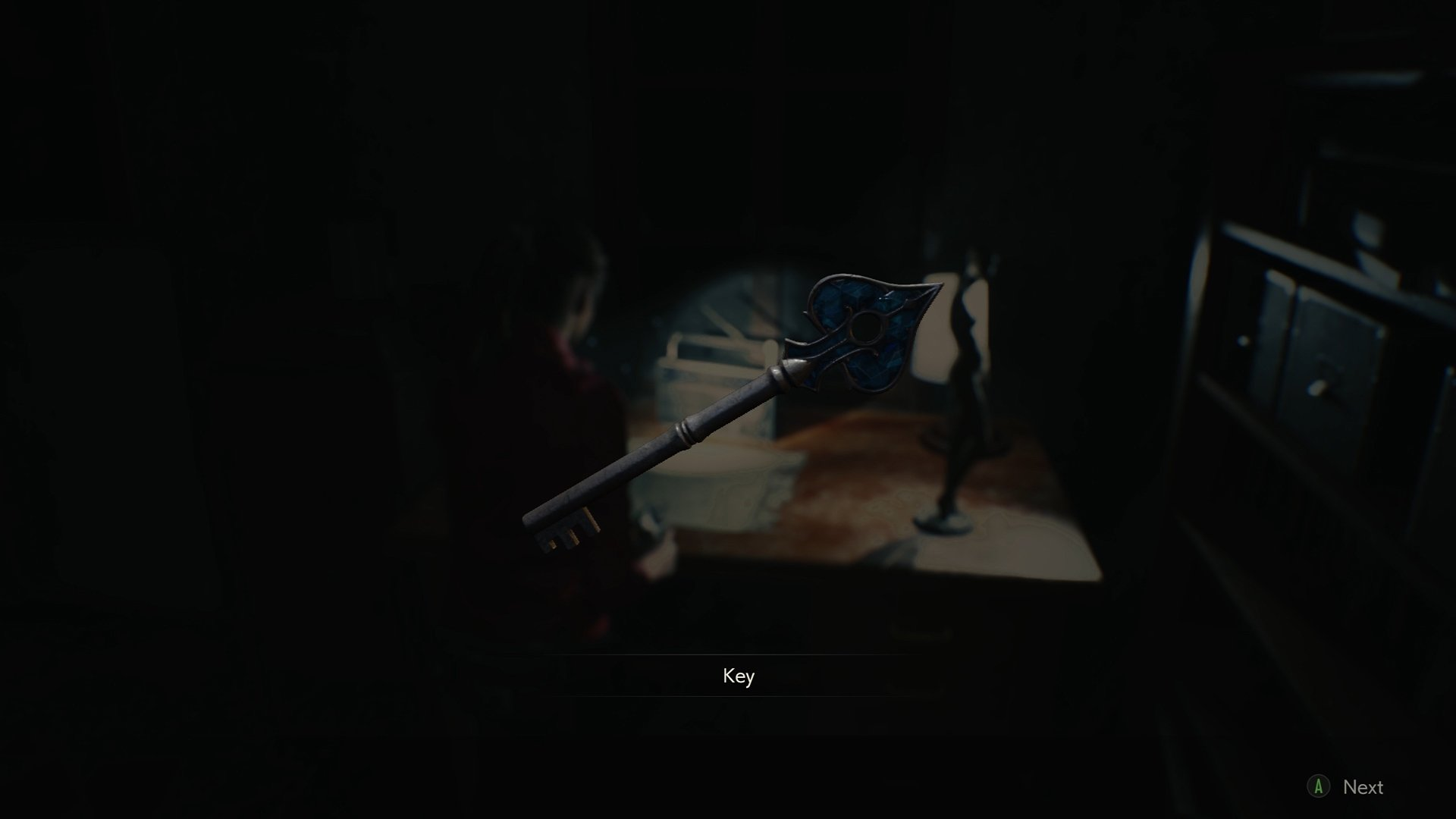 Resident Evil 2 Spade key location