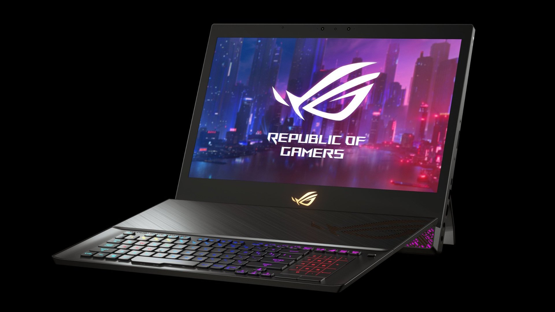 The new ROG Mothership in its standard laptop configuration