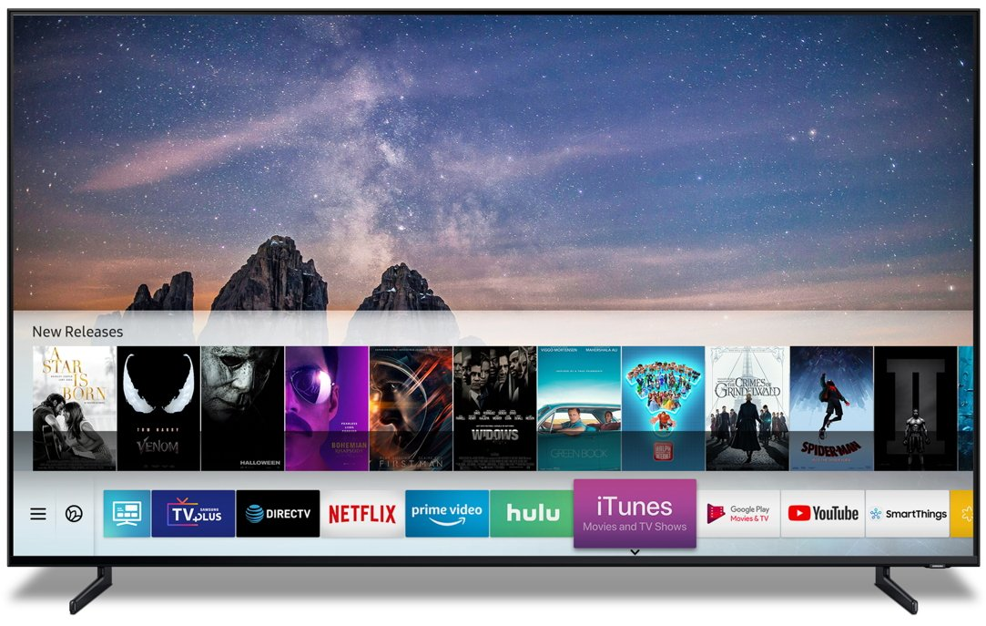 Samsung gets iTunes Movies and Shows app