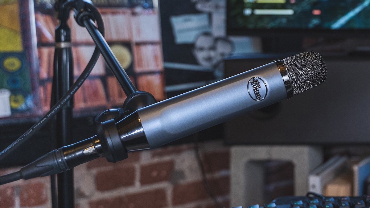 Blue's Ember microphone added XLR support to the delight of audiophiles.