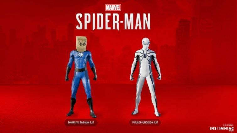 Marvel's Spider-Man DLC suits.