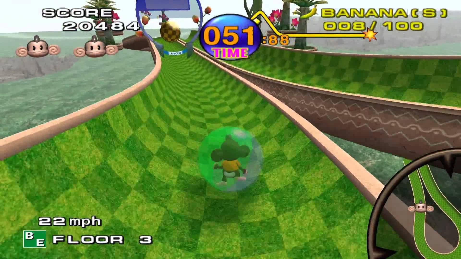 Super Monkey Ball gameplay