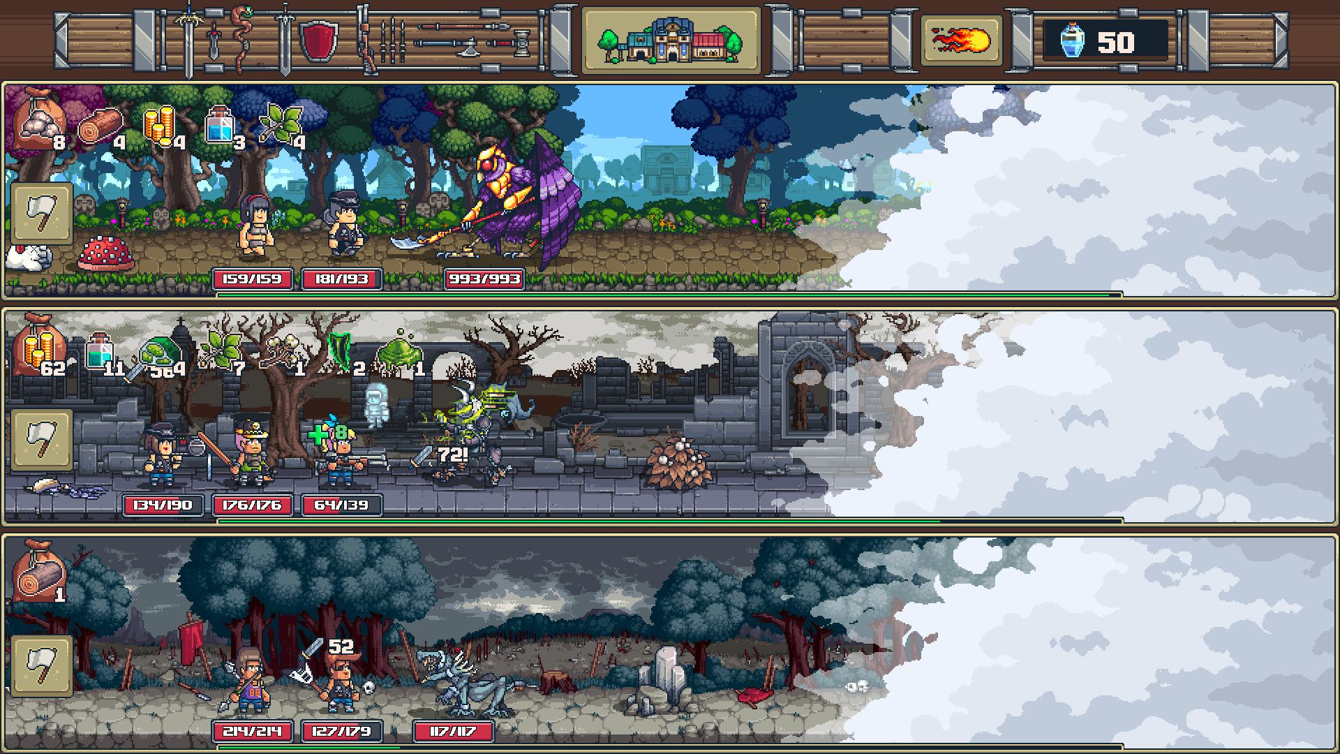 swag and sorcery pax south 2019 hands on demo tinybuild