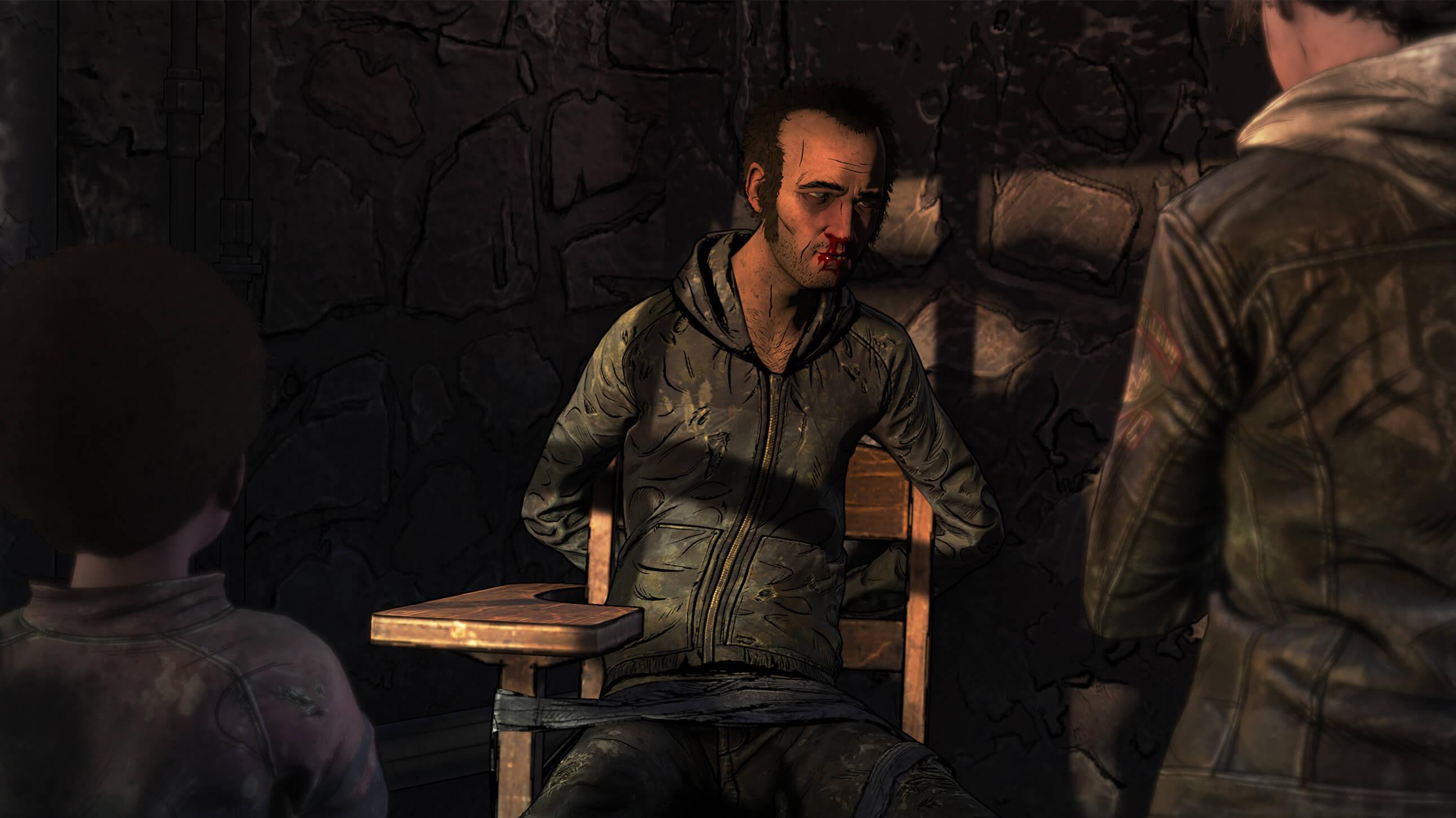 The Walking Dead: The Final Season - Interrogation