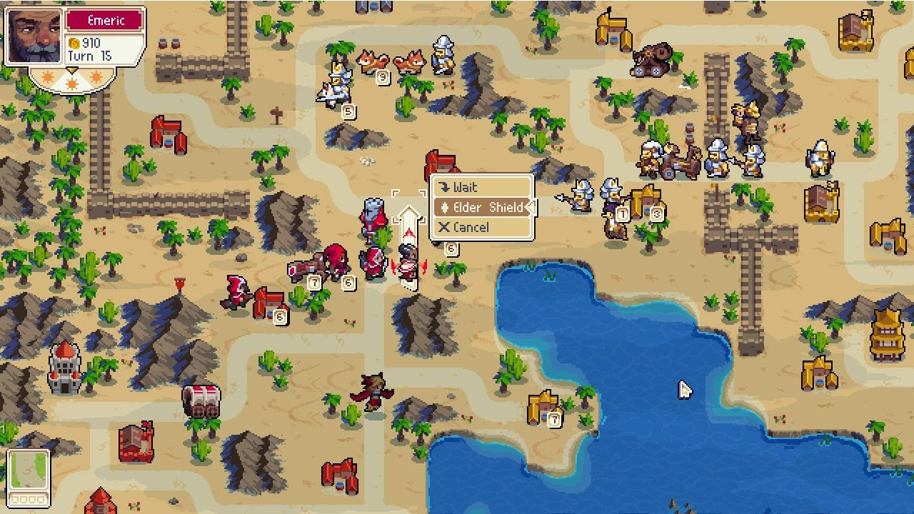wargroove nintendo switch release date chucklefish