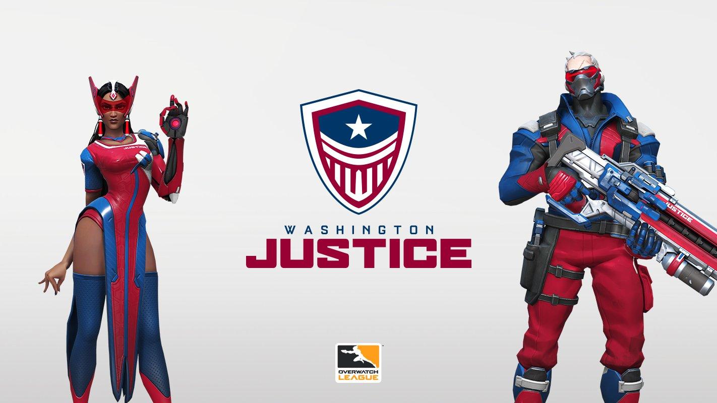 Overwatch League Season 2 - Washington Justice