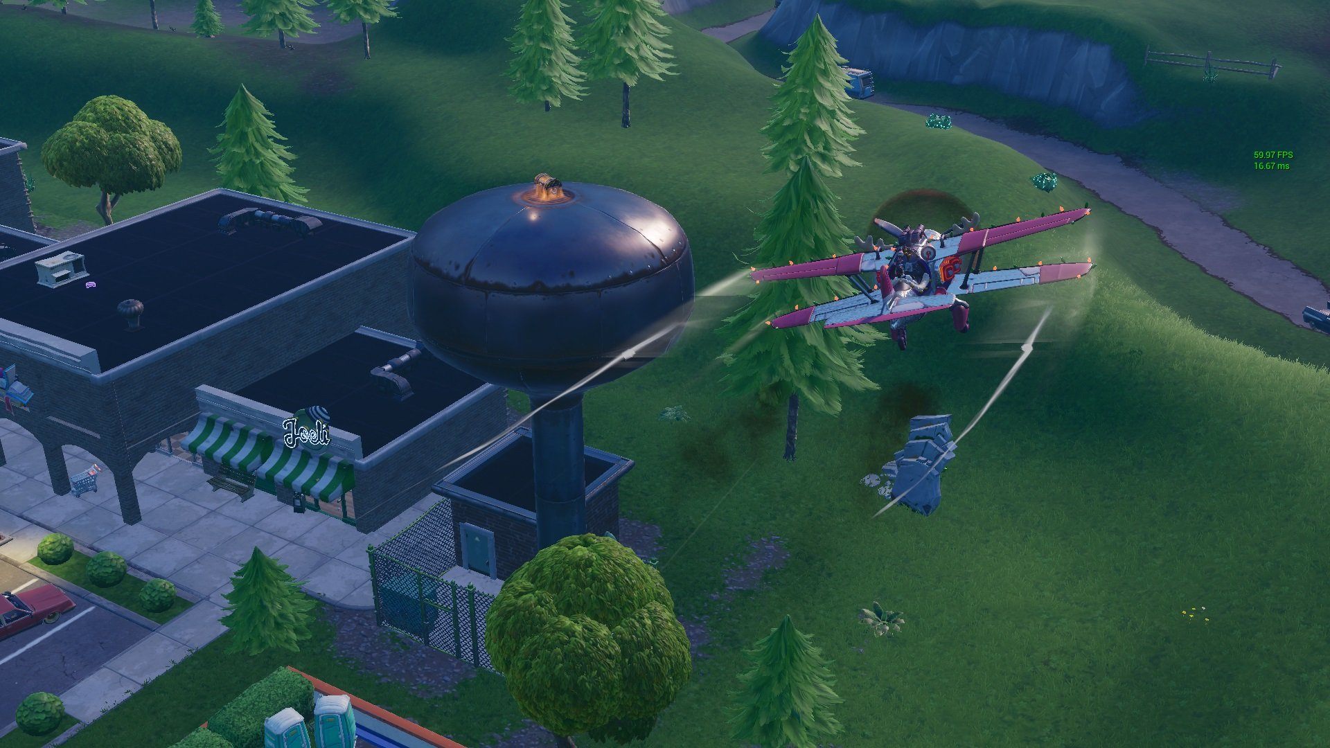Fortnite Ranger Water And Air Traffic Control Tower Locations