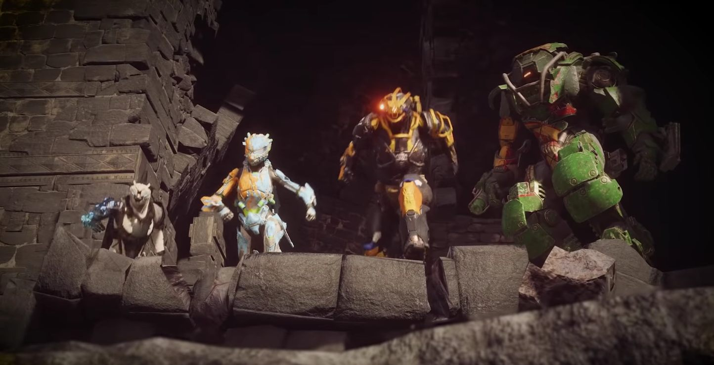 Anthem text voice chat launch