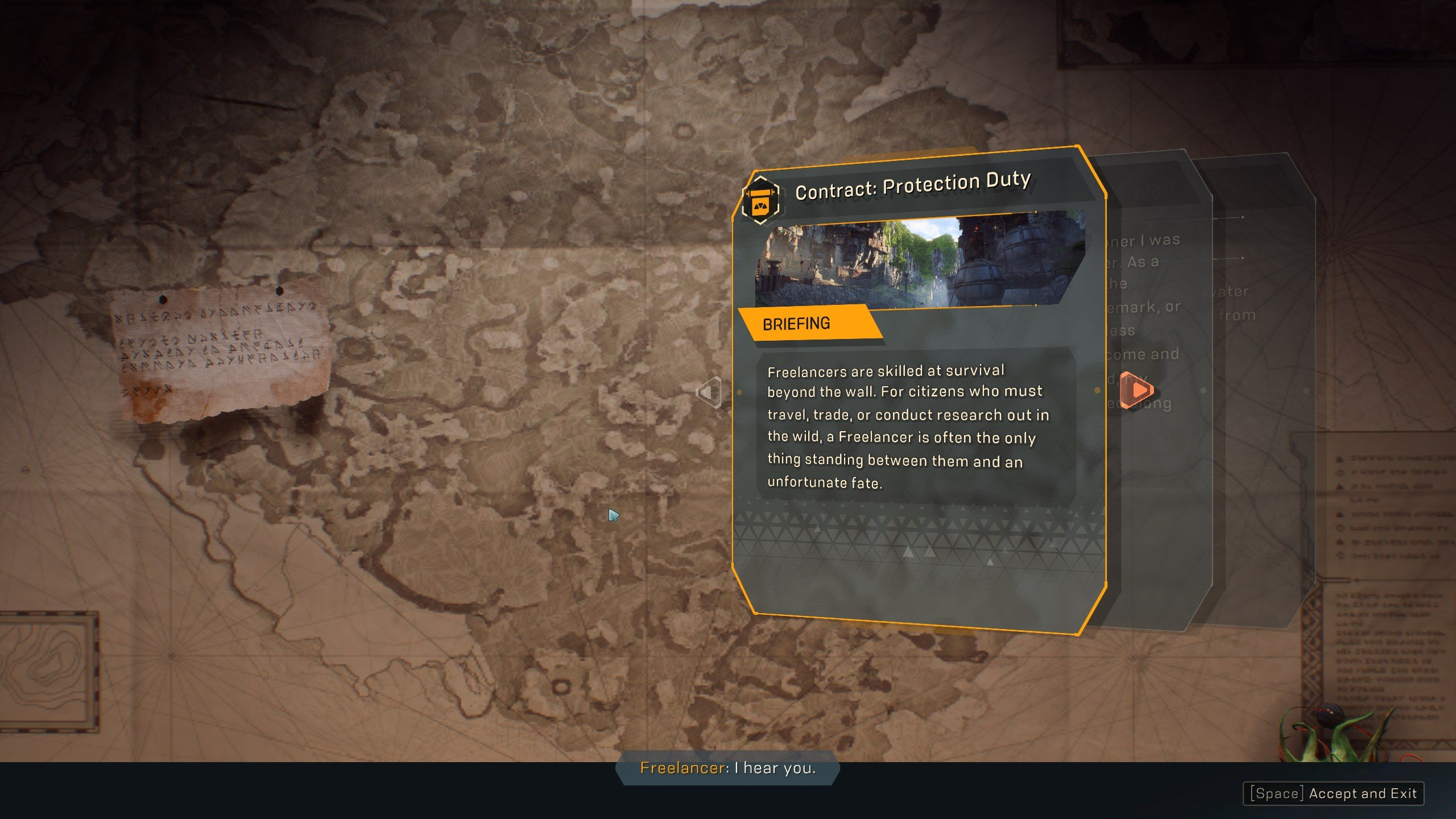 Complete contracts in Anthem