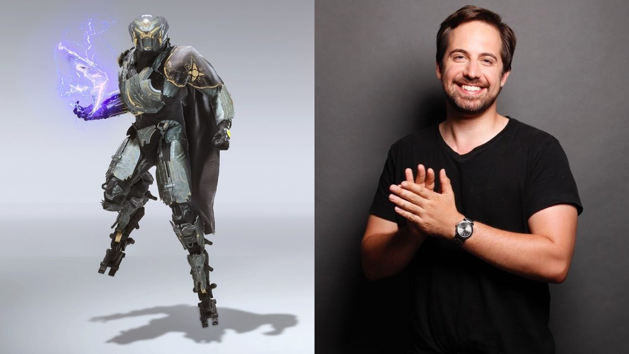 Ray Chase voices Male Player