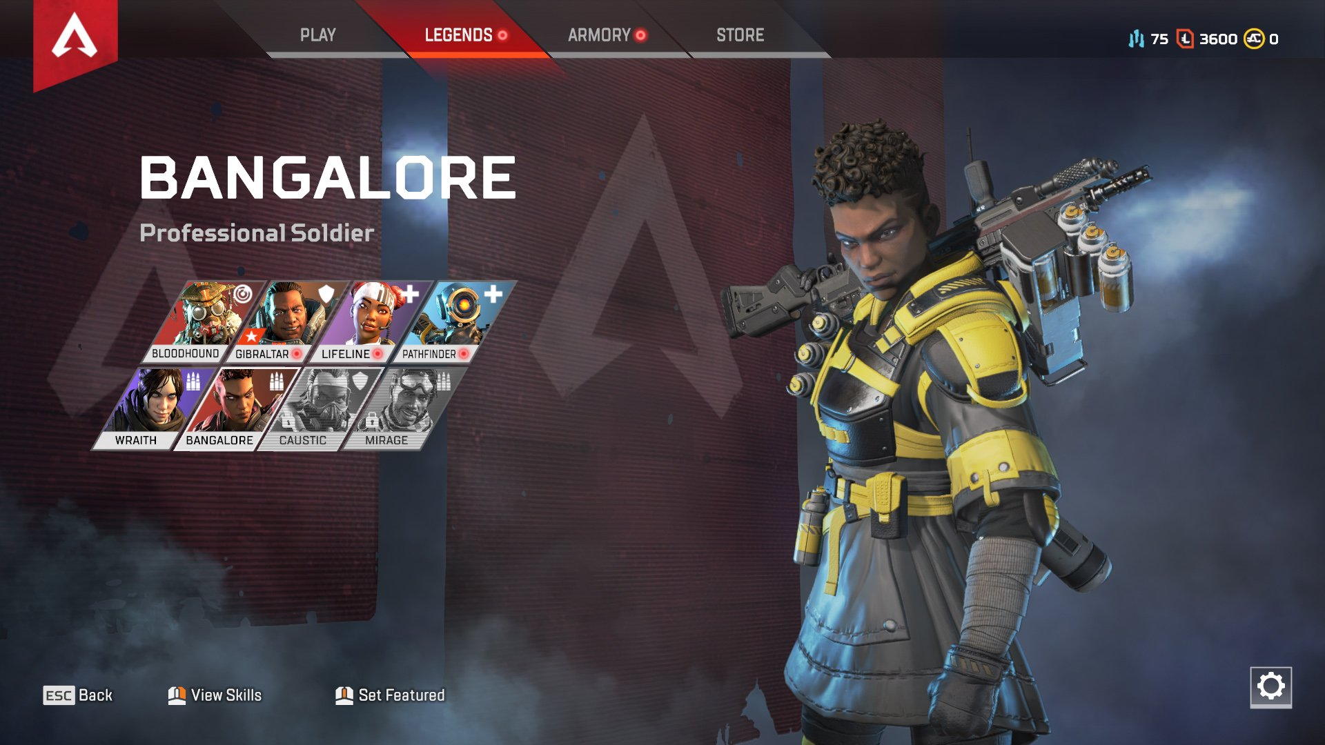 Apex Legends character abilities Bangalore