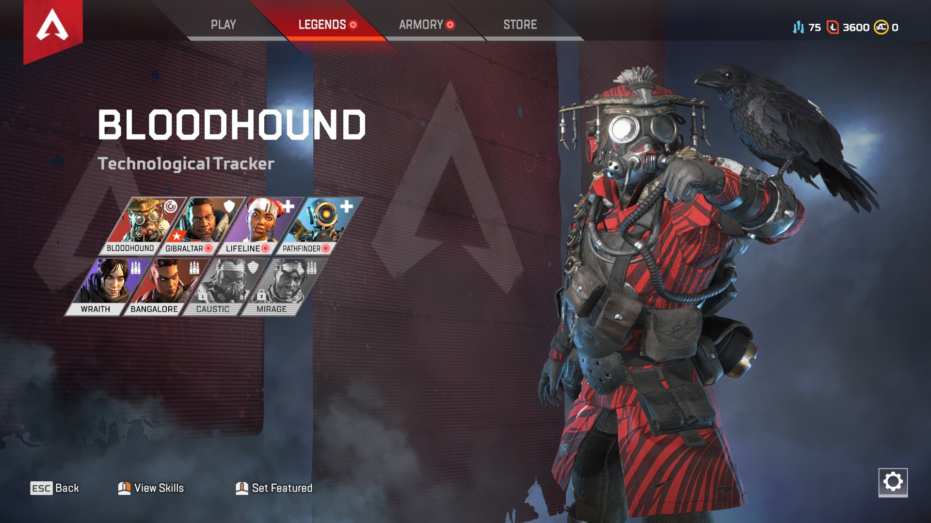 Apex Legends character abilities Bloodhound