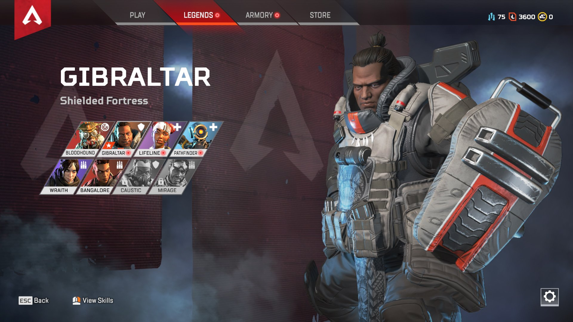 Apex Legends character abilities Gibraltar