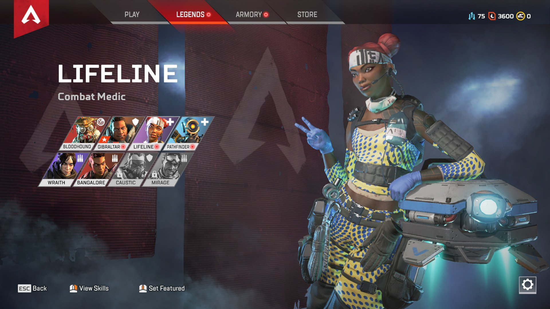 Apex Legends character abilities Lifeline