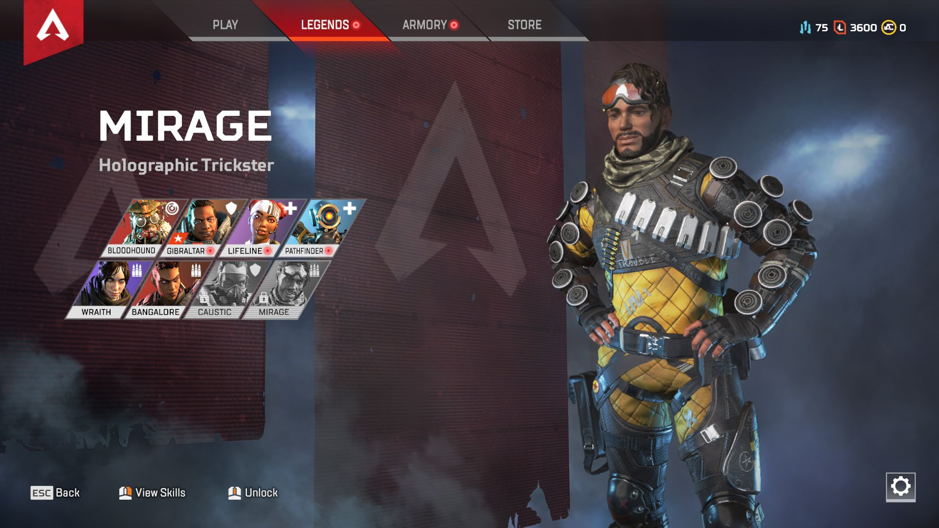 Apex Legends character abilities Mirage